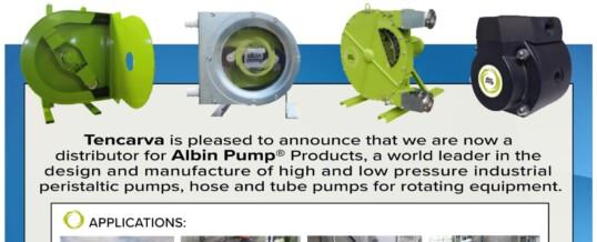 Tencarva Named Authorized Distributor for Albin Pump