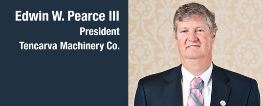Pearce Elected As President After Lee Retirement