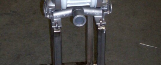 Fabricated Pump Cart