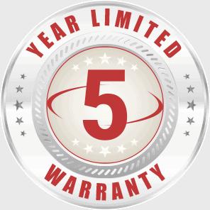 Hartzell 5 Year Limited Warranty